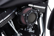 Cobra Black Rpt Stage 1 Air Intake Cleaner For Harley Cable Throttle 99-16 Bt