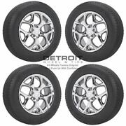 18 Chrysler Pacifica Pvd Bright Chrome Wheels Rims And Tires Oem Set 4 2017-...