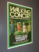 Original Concert Posters From Manchester University 2000-2013