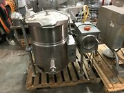 Cleveland Kgl-25-t 25 Gallon Tilting Jacketed Kettle Commercial Used