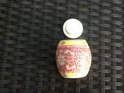 Vintage Chinease / Japanease Pot With Lid 7cm X 7cm