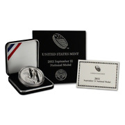 2011-w September 11th National Medal Commemorative Silver Dollar Proof