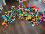 Huge Lego Duplo Lot 400+pc Jurassic Park Disney Cars Mickey Mouse More