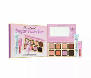 Too Faced Sugar Plum Fun Makeup Set Sold Out Xmas Collection Bnib 101 Value