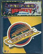 1995-96 Pro Pads Computer Mouse Pad Prototype, Vancouver Canucks Logo