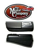19681969 Chevelle Rear Arm Rest Black W/ Pad And Ash Tray Pair Dynacorn M1040j
