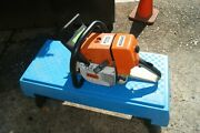 Stihl Ms460 Gas Powered Chainsaw Watch The Video