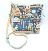 Disney Dooney And Bourke 2015 Epcot Food And Wine Festival Letter Carrier Real Pics
