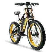 Cyrusher Xf900 Motorcycle Style Full Suspension 750w Fat Tire Electric Bicycle