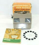 Gaf View-master With A Catalogue Of Stereoscopes And Stereoscopic Pictures 1947