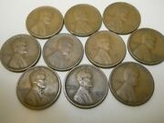 1 Roll Of 1919-s Lincoln Head Pennies. These Are Fine Or Better. Combine Ship