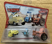 Disney Cars 1 2 3 Diecast 155 - Luigi, Guido And Tractor Movie Moments Uk