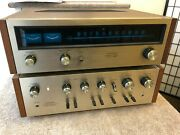 Vintage Pioneer Tx-600/sa-600 Tuner/amplifier Recapped 25 Wpc Phono Input