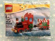 Lego Christmas Train Candycan 40034 Building Set Retired Polybag New Sealed