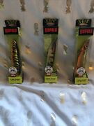 Rapala X-rap Scoop - Lot Of 3 - Brand New In Box - Rare - Fishing Lure