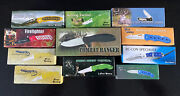 Lot Of 11 New Old Stock Frost Cutlery Pocket Knives Tactical Camping