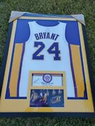 Kobe Bryant Autographed Signed Framed Class Of 2014 Kobe Camp Certificate Panini