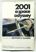 2001 A Space Odyssey Book By Arthur C. Clarke 1st Edition Hardcover 1968