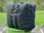 Flyers Aviator Kit Duffle Travel Military Army Bag Pack Large Made In Usa Black