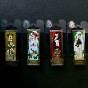 Disney Haunted Mansion Pins Full Set Of Mickey And Friends As Stretching Portraits