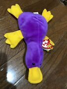 Ty Beanie Babies Patti The Platypus 1993 With Tags And Errors