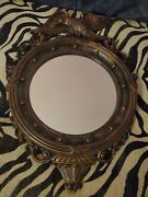 Vintage Made In Usa 1959 Coppercraft Guild Eagle Wall Mirror