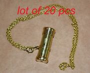Antique Vintage 2 Brass Kaleidoscope Polish Finish With Brass Chain Good Gift