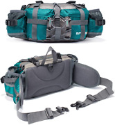 Bp Vision Outdoor Fanny Pack Hiking Camping Fishing Waist Bag 2 Water Bottle