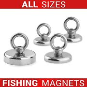 Neodymium Fishing Recovery Magnets Very Strong Pull Force 20kg Up To 1400kg