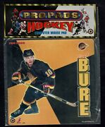 1995-96 Pro Pads Computer Mouse Pad Prototype, Vancouver Canucks Pavel Bure
