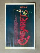 Original Vintage Cabaret Theater Poster 1971 Allied Artists Limited Run