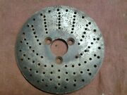 Indexing Plate Dividing Head 5.59 O.d. 1-1/8 I.d X .24 . 9-14 And 27 Holes
