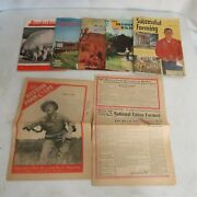 Vtg Lot Of Agricultural Magazine And Newspapers 1947 Western Farm Life