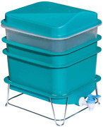 4-tray Worm Compost Kit Factory Farm Compost Small Compact Bin Set