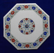 31 Marble Coffee Table Top Mosaic Pietra Dura Marquetry Furniture Home Decor