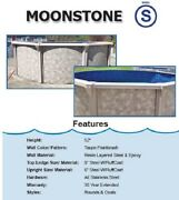 Round Above Ground Swimming Pool Package Pool Liner Skimmer Kit