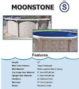 Round Steel Above Ground Swimming Pool Package Pool Liner Skimmer Filter Ladder