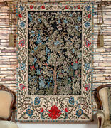 William Morris Tree Of Life Gobelin Tapestry Wall Hanging, Extra Large, 55x70