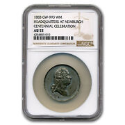 1883 Washington Medal Au-53 Ngc White Metal - Sku229257