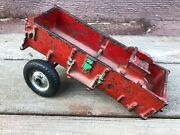 Old Arcade Cast Iron Horse-drawn Delivery Wagon Toy Part Restoration