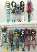 Monster High Dolls Draculaura Frankie Stein Clawdeen Wolf 40 Dolls To Pick From