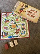 Vintage Uncle Wiggly Board Game -1961 Milton Bradley Missing Markers