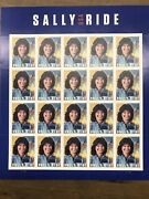 Scott 5283 Sally Ride Sheet Of 20 2018forever Stamps Mnh 100 Sheets