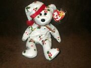 New Clean And Mint Rare 1998 Holiday Teddy Ty Beanie Baby Pe Pellets Tag Errors