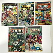 Marvel Two In One The Thing 22, 23, 38, 77, 89 1976 1978 1981 1982 Comics