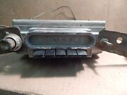 Vintage 40and039s 50and039s Ford/mercury American Deluxe Push Button 12 Volt Car Radio