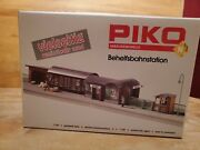 Piko N Scale 60028 Temporary Railway Station New In Box