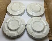 Vtg Lot Set Of 4 3/4 Ton Chevy Pickup Truck 1967-1972 Dog Dish Hubcaps Chevrolet