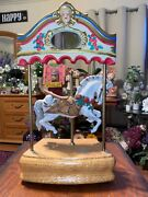 Willitts Designs Music Box Tobin Fraley Collection Melodies Horse Carousel 5038