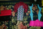 Monster High Doll Assorted Pink Black Doll Furniture Lot Stag Piece 3 Piece Set